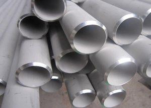 Neoksidebla ŝtala tubo ASTM A213 / ASME SA 213 TP 310S TP 310H TP 310, EN 10216 - 5 1.4845