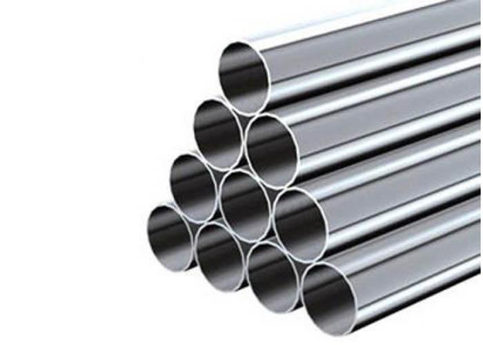ASTM A213 TP 347 ASME SA 213 TP 347H EN 10216-5 1.4550 neoksidebla ŝtalo senjunta tubo