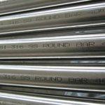 Ronda Stango ASTM A276 AISI 316 Neoksidebla Ŝtalo