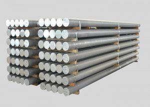 1080,2A11,3003,4A11,5754.6082,7A05 Alojo Aluminia stango
